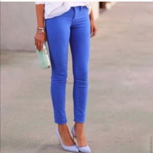 J. Crew // Toothpick Ankle Jeans